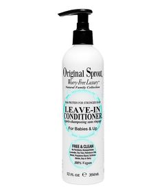 Look at this Original Sprout 12-Oz. Leave-In Conditioner on #zulily today!