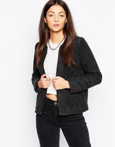 By Zoe Bibi Jacket In Wool Mix