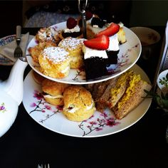 Afternoon tea at the Hidden Lane Tearoom, Glasgow, review on my blog lindsaymmm.blogspot.co.uk