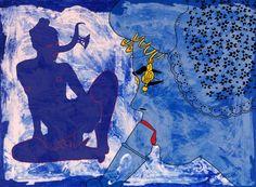 MoNa - Delftsblauw 140x190x4cm