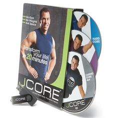 Get fit in a flash. This set includes 6 20-minute DVDs plus a USB for staying fit on the fly.