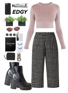"""Untitled #177"" by couturechick09 ❤ liked on Polyvore featuring BLQ BASIQ, MAC Cosmetics, Christian Dior, Lux-Art Silks, Case-Mate and Monki"
