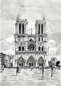 For sale - Cathedral Notre-Dame by nicolasjolly.deviantart.com on @deviantART