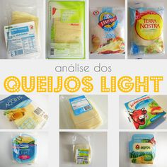 Análise dos Queijos Light Magros à Venda em em Portugal #dieta #emagrecer