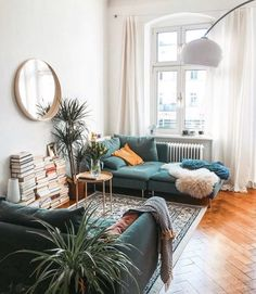 Inspiring Bohemian Style Bedroom Decor Design Ideas - Home Design - lmolnar - Best Design and Decoration You Need Home Living Room, Apartment Living, Living Room Furniture, Living Room Designs, Living Room Decor, Living Spaces, Bedroom Decor, Bedroom Sofa, Home And Deco