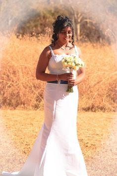 Vasi on her Wedding Day | Mokoya Lodge