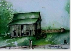 Green Topped Barn