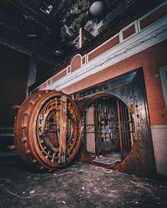 Abandoned Bank or Cozy Storm?
