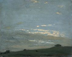 The Silver Sunset by William Nicholson, 1909-1910