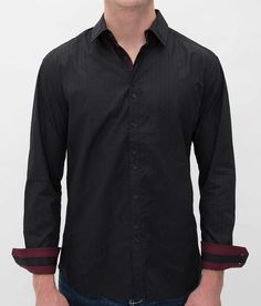 Buckle Black Polished Happiness Shirt - Men's Shirts/Tops | Buckle