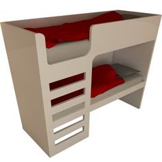 Our Folkestone bunk beds are a modern and sleek design suitable for any bedroom theme Available in single bed or toddler bed size mattress not