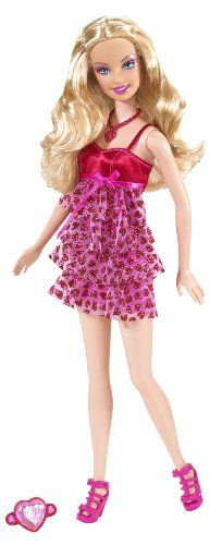 Valentine Barbie Pink Doll