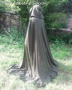 Wild Wood Cloak / Ritual / GreenLady / WildWood Lord and Lady / Ren Faire Wear / Costume / Pagan $35.00+$6.00 shipping