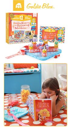 Building Confidence : GoldieBlox Engineering Toys for Girls