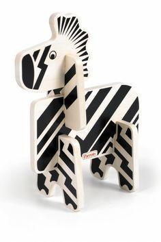 Parents Jungle Pals Zebra Stacking Puzzle