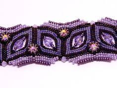 Bracelets – Violet purple tone bracelet – a unique product by DarkEyedJewels on DaWanda