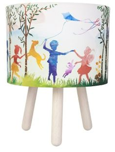 In The Woods Fabric Table Lamp : Bellas Little Ones, Buy Ergo Baby Carrier Australia and Manduca Baby Carrier. Personalised baby gifts, nursery decor, wall stickers and wall decals.