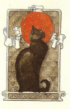 Théophile Alexandre Steinlen 's Cats