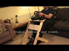 The WheelStand mkII - Custom DIY Steering Wheel Stand - YouTube