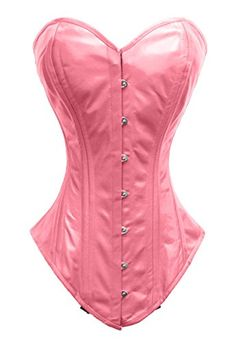 8d2d8284371 Double Steel Boned Waist Training Leather Overbust Corset. Warm Leather · Satin  Corsets