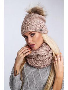 Hnedý dámsky set čiapka + šál Winter Hats, Lens, Crochet, Fashion, Crochet Hooks, Moda, La Mode, Crocheting, Fasion