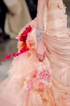 .Wedding gown...
