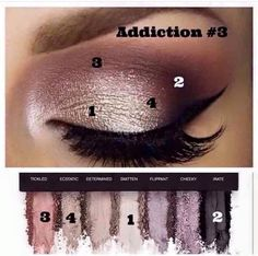 Addiction Palettes contain both matte and shimmer pigment colors in 5 different color schemes. Get dramatic looks and day looks all in one!