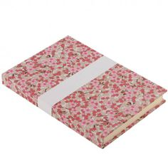 Esmie medium hardback notebook pink