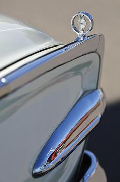 1960 Edsel Hood Ornament Photograph by Jill Reger - 1960 Edsel Hood Ornament Fine Art Prints and Posters for Sale