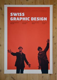 Poster for a fictive exhibition about swiss graphic design.