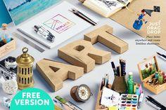Free Isometric Art Equipments Scene Generator