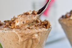 Oh. My. Pregnant. Self. Vegan Peanut Butter Chocolate Crunch 'Blizzard' - I think I just died and went to heaven.