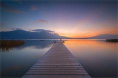 Sunset am Mondsee - Sonnenuntergang am Mondsee
