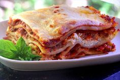 Easy Lasagna from Food.com: A quick and easy version of lasagna