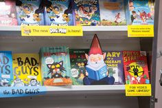 "Move this ""bookish"" gnome around your Fair each day, challenging students to find him. Gnomes Book, Enchanted Forest Theme, Library Events, Minion Movie, School 2013, Fallen Book, Fantasy Forest, School Themes, Family Night"