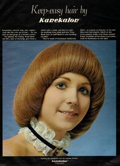 1960s Hair, Wind And Rain, Easy Hairstyles, Curls, Wigs, How To Wear, Fashion, Moda, Fashion Styles