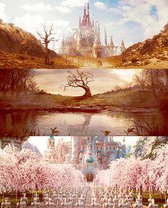 skeletonguns: Scenery Porn: Tim Burton's Alice in Wonderland