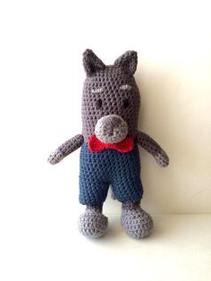 Lobo Feroz #crochet #amigurumi