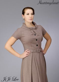 KEIRA vintage inspired made to measure dress all size swing