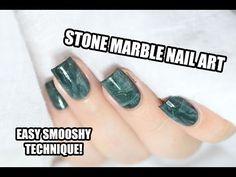 Marine Loves Polish: Nailstorming - Objet de déco / Stone marble nail art [VIDEO TUTORIAL]
