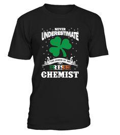 Irish Chemist - Saint Patrick's Day  #gift #idea #shirt #image #funny #job #new #best #top #hot #high-school