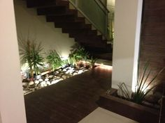 interior garden Organic Gardening Tips, Interior Garden, Loft Style, Herb Garden, Innovation Design, Facade, Stairs, Herbs, Indoor
