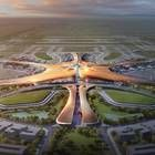 Designed by Zaha Hadid, the forthcoming Beijing International Airport Terminal 1 is almost double the size of Heathrow Terminal 5 and will serve 125,000 passengers each day