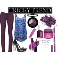 Plum is one tricky trend to style, but heres a collage showing you how to rock fall's hottest hue! #trickytrend #plum #fashion #beautytrend