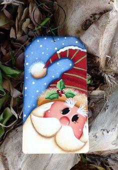 NEW 2016 Merry Merry Santa Ornament por CountryCharmers en Etsy Más