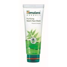 Himalaya Herbals Purifying Neem Face Wash: Buy Himalaya Herbals Purifying Neem Face Wash Online at Best Price in India | Nykaa How To Get Rid Of Pimples, Makeup Must Haves, Natural Solutions, Face Wash, Clear Skin, Herbalism, Stuff To Buy, India, Beauty