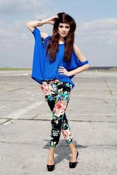 This is a great look for summer! #Prints #BrightenYourSummer #StyleZen