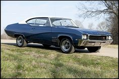 '68 Buick GS - Oh...I do love Buicks and wow...Love how this car is sprung.