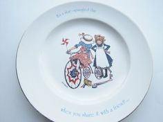 Holly Hobbie Freedom Series Collectable Plate