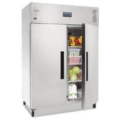 Armario frigorífico Gastronorm doble puerta 1.200L. Polar